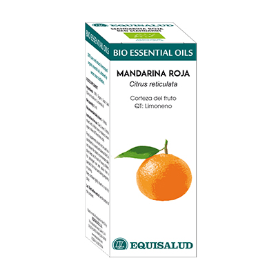 Bio Essential Oil Mandarina Roja - Equisalud - 10 ml.
