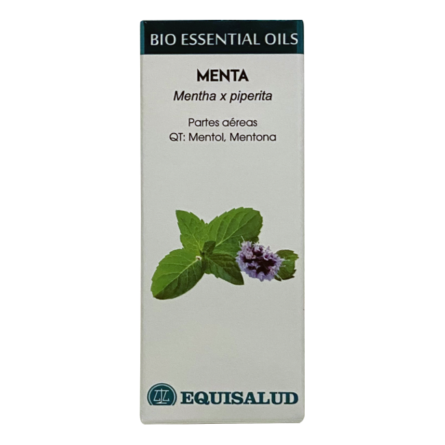 Bio Essential Oil Menta - Equisalud - 10 ml.
