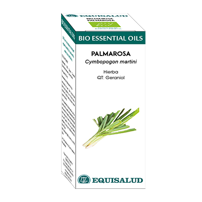 Bio Essential Oil Palmarosa - Equisalud - 10 ml.
