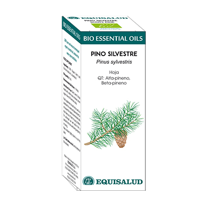 Bio Essential Oil Pino Silvestre - Equisalud - 10 ml.