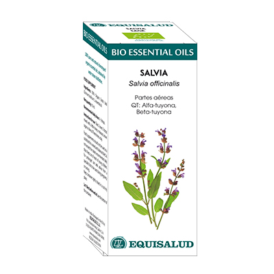 Bio Essential Oil Salvia - Equisalud - 10 ml.