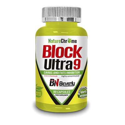 Block Ultra 9 - Beverly - 90 cápsulas