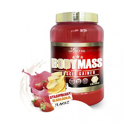 Body Mass Strawberry-Banana - NutriSport - 2500 gramos