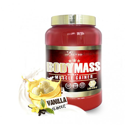 Body Mass Vainilla-Cream - NutriSport - 2500 gramos