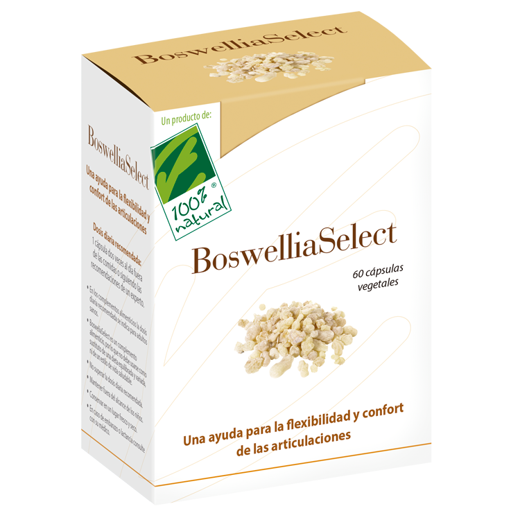 Boswelliaselect - 100% Natural - 60 cápsulas