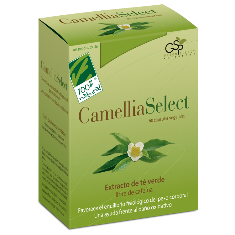Camelliaselect - 100% Natural - 60 cápsulas