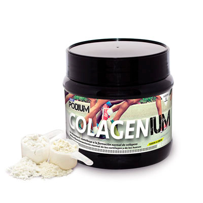 Colagenium, envase de 300 gramos de Just Podium.