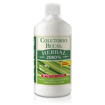 Colutorio Herbal - Natysal - 1000 ml.
