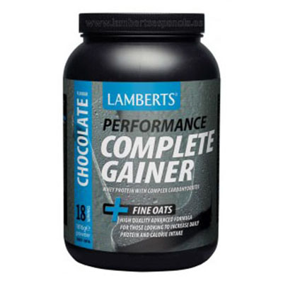 Complete Gainer. Sabor Chocolate - Lamberts - 1816 gr.
