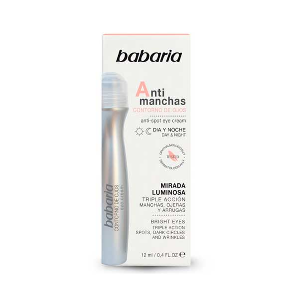 Contorno Ojos Antimanchas - Babaria - 12 ml.