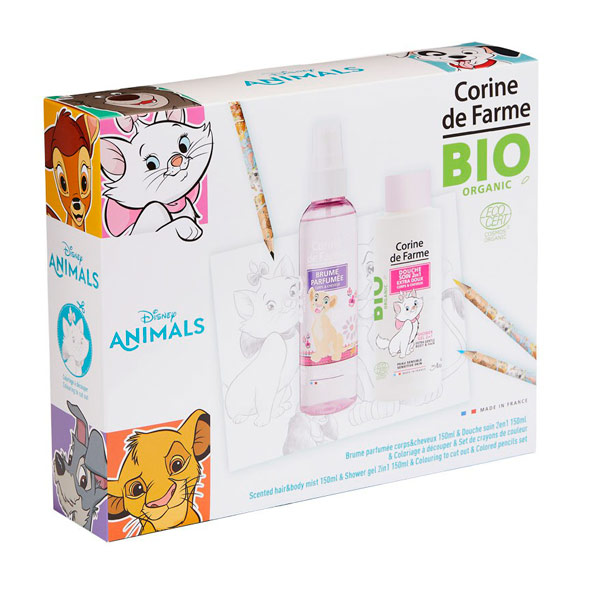 Corine De Farme Animales Bruma + Gel 150 ml.