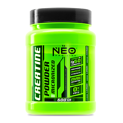 Creatine Powder Fresa Acida - NEO Proline - 600 gramos
