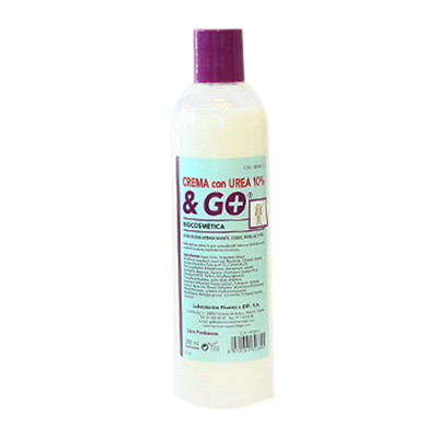 Crema de Urea 10% & Go . - Pharma & Go - 300 ml..
