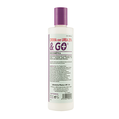Crema Urea 25% & Go - Pharma & Go - 250 ml.