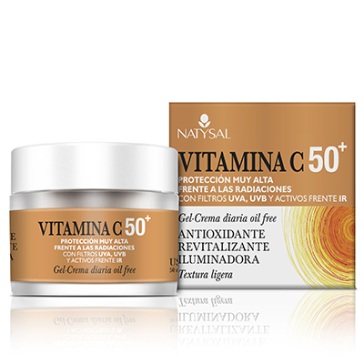 Crema Vitamina C 50 + - Natysal - 50 ml.