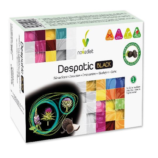 Despatic Black - Novadiet - 20 ampollas