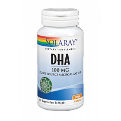 Dha Neuromins 100 mg. - Solaray - 30 perlas