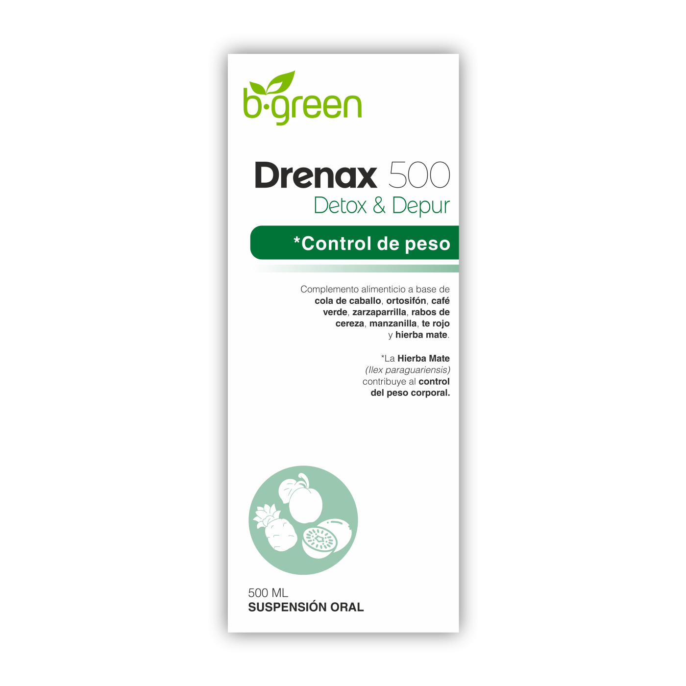 Drenax - B'Green - 500 ml.