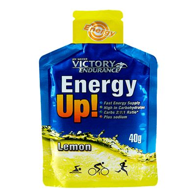 Energy Up Gel Limón - Victory Endurance - 24 x 40 g.