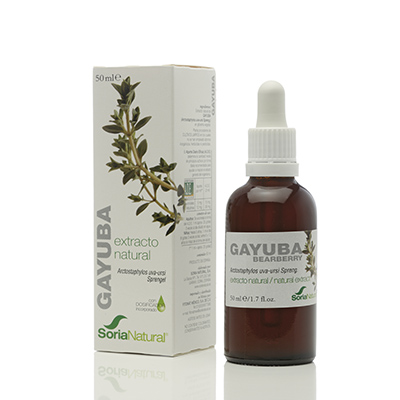 Extracto Gayuba S. XXI - Soria Natural - 50 ml.