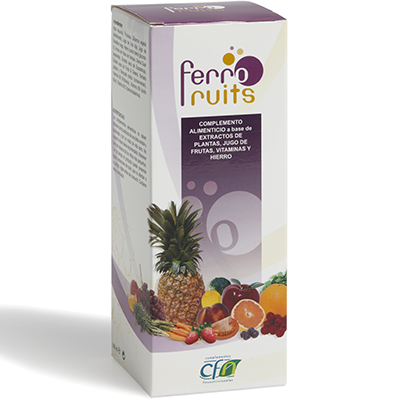 Ferrofruits Jarabe - CFN - 500 ml.