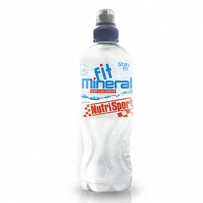 Fit Mineral Fresh - NutriSport - 24 botellas de 500 ml.