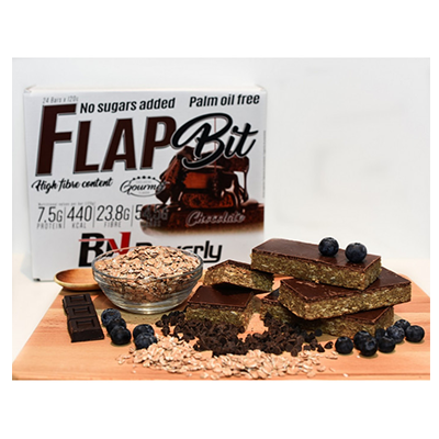 Flap Bit 120 gr. Oat bar - Choco - Beverly - 24 barritas