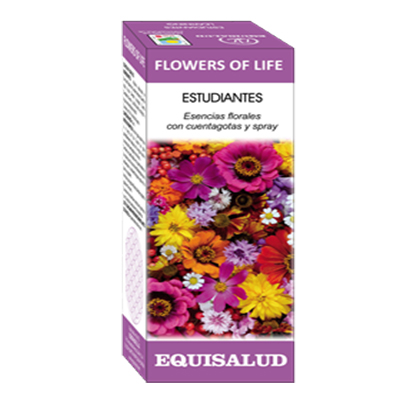 FLOWERS OF LIFE ESTUDIANTES - Equisalud - 15 ml.