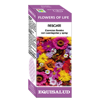 FLOWERS OF LIFE RESCATE - Equisalud - 15 ml.