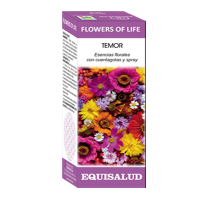 FLOWERS OF LIFE TEMOR - Equisalud - 15 ml.