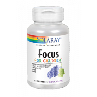 Focus For Children - Solaray - 60 comprimidos
