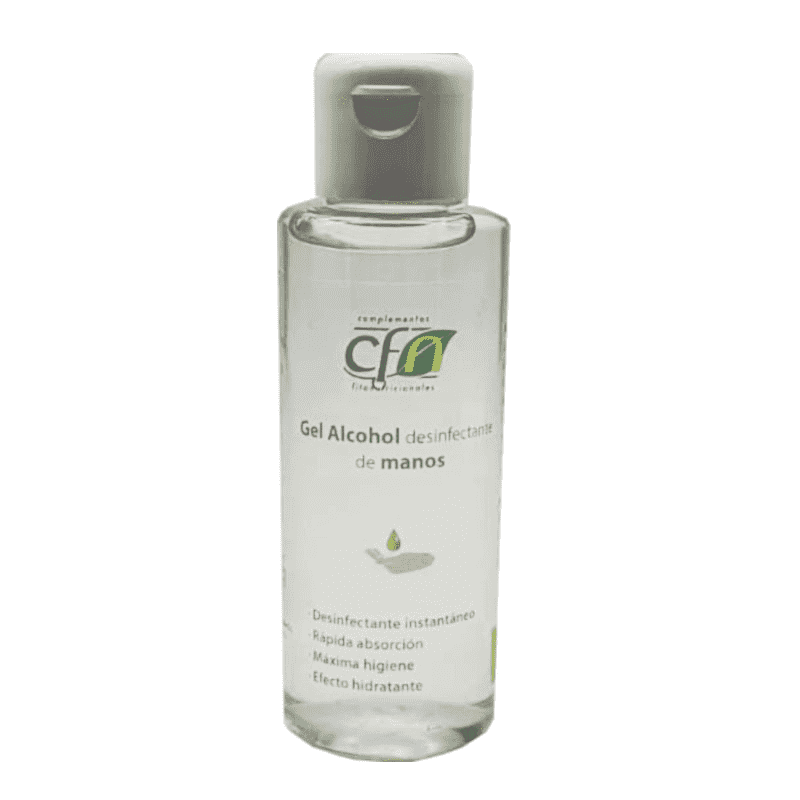 Gel Alcohol desinfectante de manos - CFN - 100 ml.