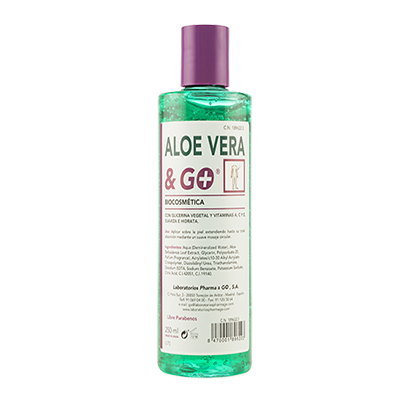 Gel de Aloe Vera & Go - Pharma & Go - 250 ml.