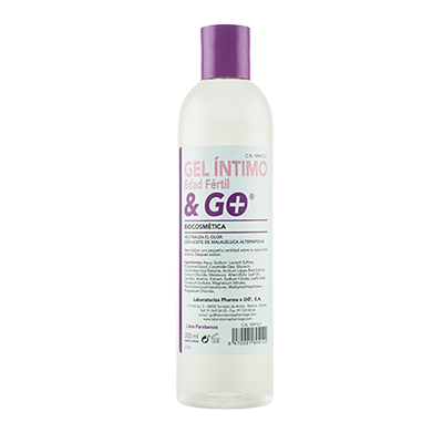 Gel Íntimo Ph5 Edad Fértil & Go - Pharma & Go - 300 ml.