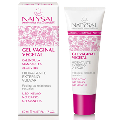 Gel Vaginal Vegetal - Natysal - 50 ml.