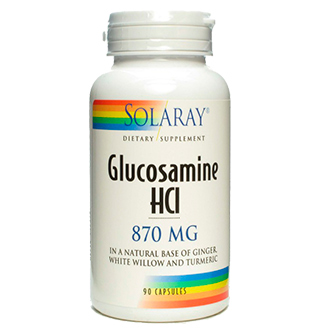 Glucosamina 870 mg - Solaray - 90 cap.
