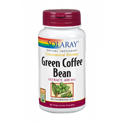 Green Coffe Extract 400 mg. - Solaray - 60 cápsulas