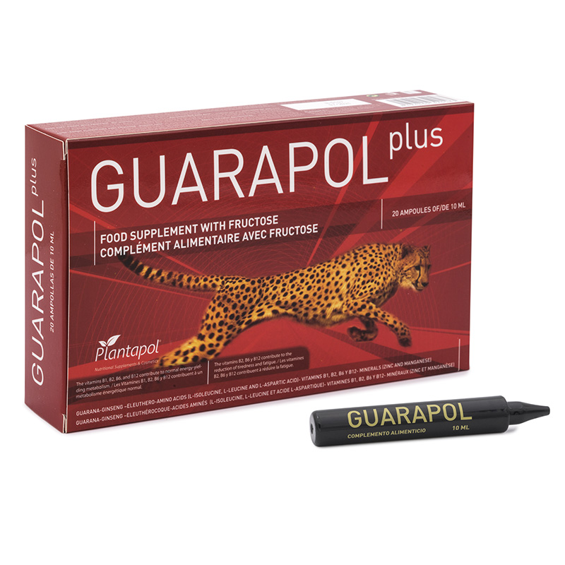 Guarapol Plus - Plantapol - 10 viales