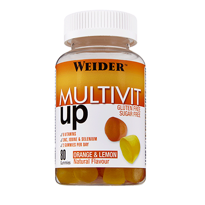 Gummy up Revolution Multivit - Weider - 80 gominolas .