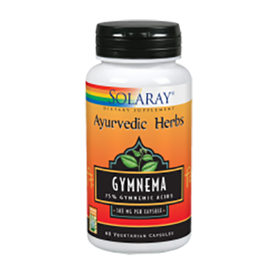 Gymnema 385 mg. - Solaray - 60 cápsulas vegetales
