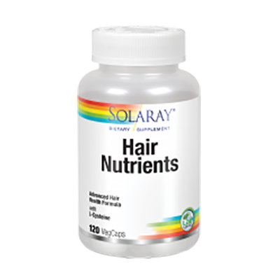 Hair Nutrients - Solaray - 120 cápsulas