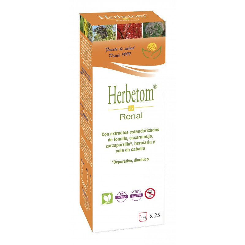 Herbetom 5 Renal - Bioserum - 250 ml.