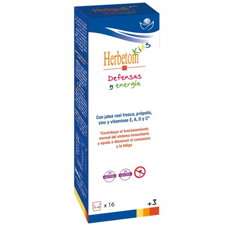 Herbetom Kids Defensas y Energía - Bioserum - 250 ml.