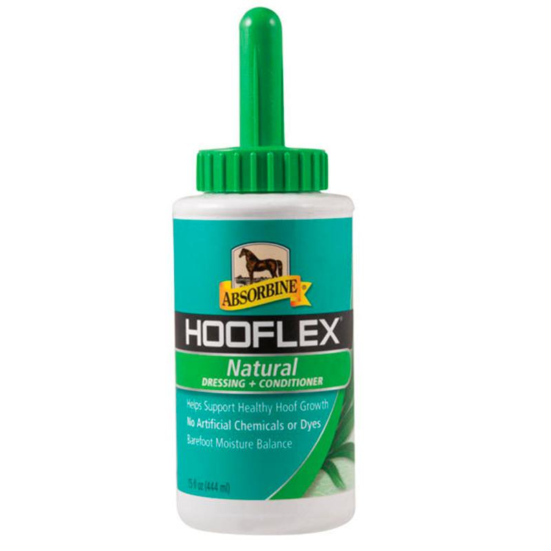 Hooflex Natural Dressing & Conditioner  - VetNova - 444 ml - con Brocha Aplicadora