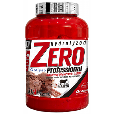 Hydrolyzed Zero Professional Whey - Strawberry - Beverly - 2 kg.