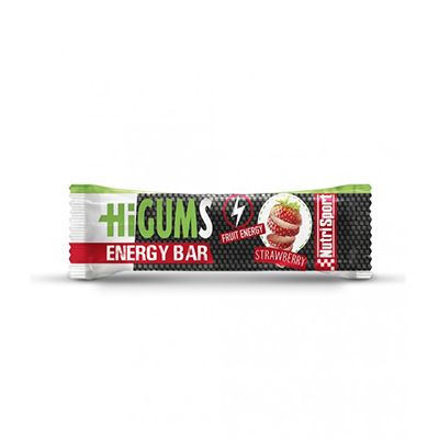 Hygums Bar Strawberry Strawberry - NutriSport - 28 barritas