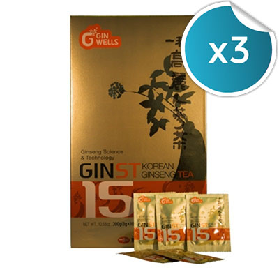 Il Hwa - Ginst 15 Tea - Tongil - 30 sobres (Pack 3 unidades)