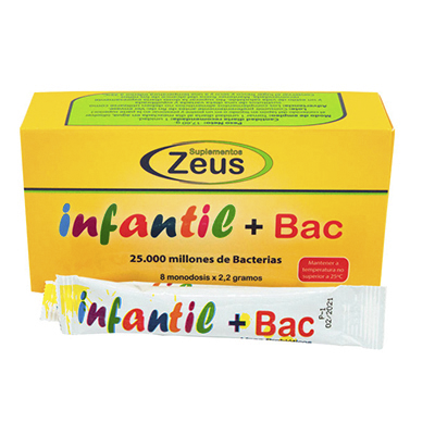 Infantil+Bac - Zeus - 8 sticks