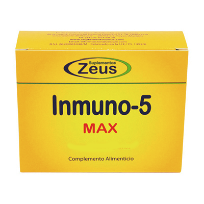 Inmuno-5 Max - Zeus - 7 sticks