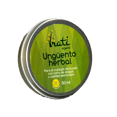 Irati Organic - Ungüento Herbal - Equisalud - 50 ml.